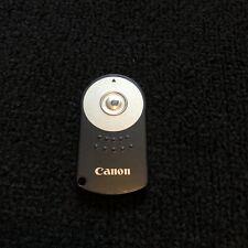 Canon Genuine Original Wireless Remote Controller RC-5 EOS Tested No Battery