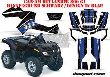 AMR RACING DEKOR GRAPHIC KIT ATV CAN-AM OUTLANDER STD & XMR/MAX DIAMOND RACE B