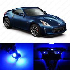 5 x Ultra Blue LED Interior Light Package For 2009 - 2013 Nissan 370Z