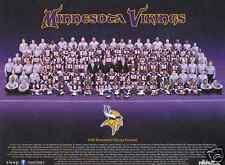 2008 Minnesota Vikings Unsigned Team Photo 9x11.5 SGA