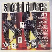 """2 X 33 tours Disques Vinyles LP 12"""" SPECIAL DANSES VOL.11 - CARRERE 66187 RARE"""