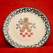 Tienshan Folkcraft Gingerbread Salad Plate 7 3/4 in. Christmas