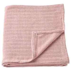 "IKEA YLVALI Throw Dark Gray Pink 51x67 """