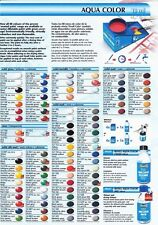 Revell Aqua Acrylic Model Paints.You Choose Colours. Quick Drying. Any 6 Colours