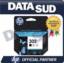 CARTUCCIA HP 302 ORIGINALE BLACK NERO INK-JET PER HP OFFICEJET 3830 ALL..