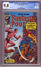 Fantastic Four Special Edition #1 CGC 9.8 John Byrne Wraparound Cover (1984)