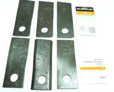 "6 Pack of CountyLine Disc Mower Blade RH 4-5/6"" Length, 4/25"" Thick B45-6566-CL"