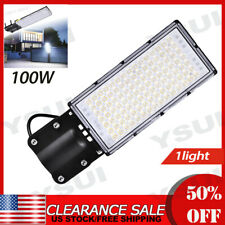 1X9000Lm street lamp cold white 100Wd with bracket lighting commercial street
