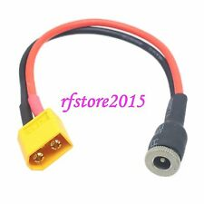 DC Power 5.5x2.1mm female socket to XT60 male Adapter 14AWG 15CM Cable