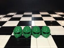 Lego Ninja Minifigure Green Wrap Headgear X4 for Ninjago / Ninja