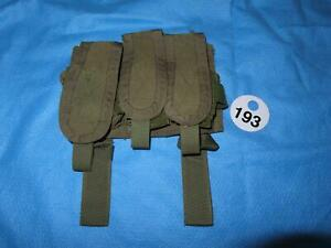 PARACLETE TRIPLE MAG POUCH SMOKE GREEN USED W193