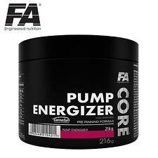 PUMP ENERGIZER 216g Pre-Workout Booster Caffeine Tyrosine Beta-Alanine Arginine
