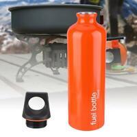 750ml Outdoor Camping Fuel Bottle Alcohol Petrol Kerosene Storage Tank Fuel Can