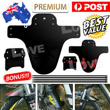 Cycling Mountain Bike Bicycle Front Rear Fender Mudguard Mud Guard Set