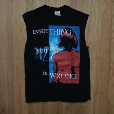 U2 Everything you Know is Wrong Vintage T Shirt 1991 Black Concert Promo Large