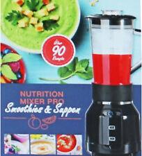 GOURMETmaxx 00055 Rezeptbuch für Nutrition Mixer Pro, Leckere Rezeptideen