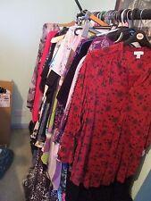 LADIES CLOTHES GRADE A, AUTUMN/WINTER, LARGE/PLUS SIZES 16 18 20 22 , 10 KILO