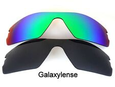 Galaxy Replacement Lenses for Oakley Radar Path Black&Green Polarized 2 Pairs