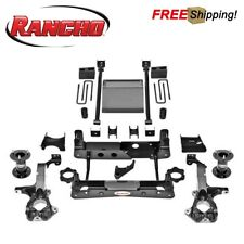 "Rancho 6"" Suspension Lift Kit Fits 2014-2018 Silverado 1500 W/ Aluminum Knuckles"
