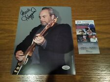 MERLE HAGGARD SIGNED COUNTRY 8X10 JSA COA Photo autograph LEGEND