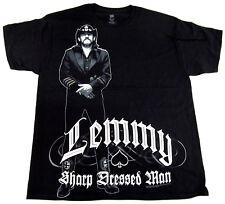 LEMMY STANCE T-shirt Ian Kilmister MOTORHEAD Heavy Metal Tee Adult SMALL New