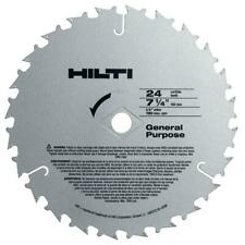 Hilti Wcsc Circular Saw Blades General Purpose Blade 7 14 In X 24 Teeth 50 Pk