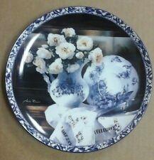 """Porcelain Treasures"" Arleta Pech Heirloom Bradford Exchange China Plate 1 COA"