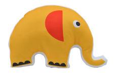 NEW Kids Elephant Plush Cushion Red and Yellow Handmade in Australia