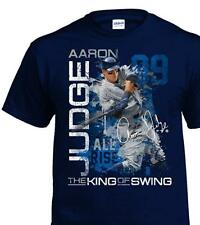 Aaron Judge New York Yankees MLB All Rise 100% Cotton Navy Graphic T-Shirt ef1f9eef091