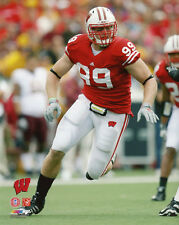 Wisconsin Badgers JJ WATT Glossy 8x10 Photo NCAA Football Print Poster