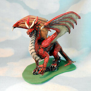 Dragon Red  #2b Reaper rpg role-playing game Monster painted by JohnnyJukey