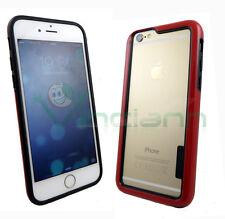 BUMPER rosso+nero per iPhone 6 4.7 6S custodia cover protezione bordi lati nuovo