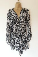 STUNNING MASAI CARDIGAN SZ M IN EXCELLENT CONDITION! THIN, FLOATY, FLORAL
