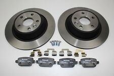 Original Brake Discs + Brake Pads Rear Ford Mondeo MK4 2111254+ 1917250