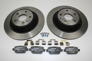 Original Brake Discs + Brake Pads Rear Ford Mondeo MK4 2111254+ 1917250