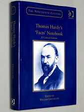 THOMAS HARDY's 'Facts' Notebook A Critical Edition - William Greenslade (2004)