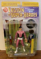 2001 DC Direct-LEGIONE DEI SUPER EROI-Cosmic BOY con anello di volo Legion