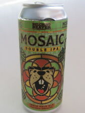 Craft BEER Can ~ BELCHING BEAVER Brewing Co Mosaic Double IPA ~ Oceanside, CALIF