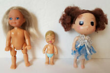 "LOT of 3 DOLLS - SIMBA DOLL Evi Love Kelly 4.5"" DDUNG ? 4.5""  MATTEL BABY 2.5"""