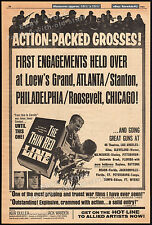 THE THIN RED LINE__Original 1964 Trade AD promo_poster__KEIR DULLEA__JACK WARDEN