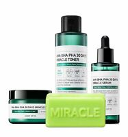 [SOME BY MI] AHA. BHA. PHA 30 Days Miracle Toner / Serum  / Cream / Soap SET