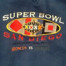 Super Bowl 32 Greenbay Pacers v. Denver Broncos VINTAGE Sweatshirt  XL