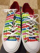 Women's Converse All Stars Multi-Color Dot Marimekko Sneakers Size 10