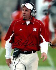 Bo Pelini Nebraska Cornhuskers Signed 8x10