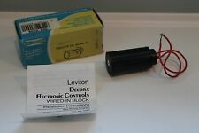 Leviton 6286 wired in block  Band Pass Filter in line nise filter