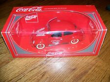 Diecast Solido Red Coca-Cola Volkswagen Beetle with Original Box  New NIB