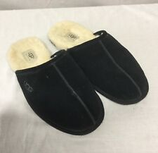 Authentic UGG Brand Men's Shoes Scuff Sheepskin Slippers Black 5172