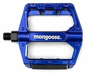 Adult Mountain Bike Pedals Adapters Included for Most Bikes Blue Lightweight