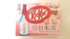 NESTLE KITKAT JAPAN LIMITED RARE SAKURA CHERRY BLOSSOM NIHONSHU SAKE 3P   F/S