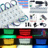 US 50~100FT 5050 SMD 3 LED Module STORE FRONT Window Light Strip + Power DIY Kit